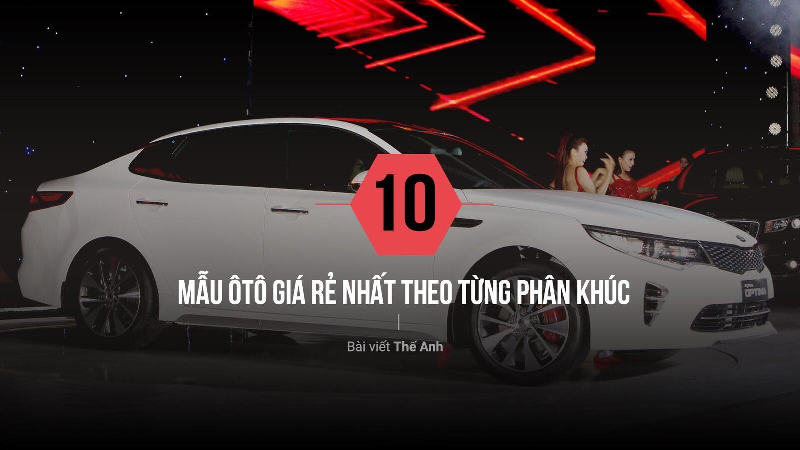 10 mẫu ôtô rẻ nhất theo từng phân khúc tại Việt Nam - Hình 1