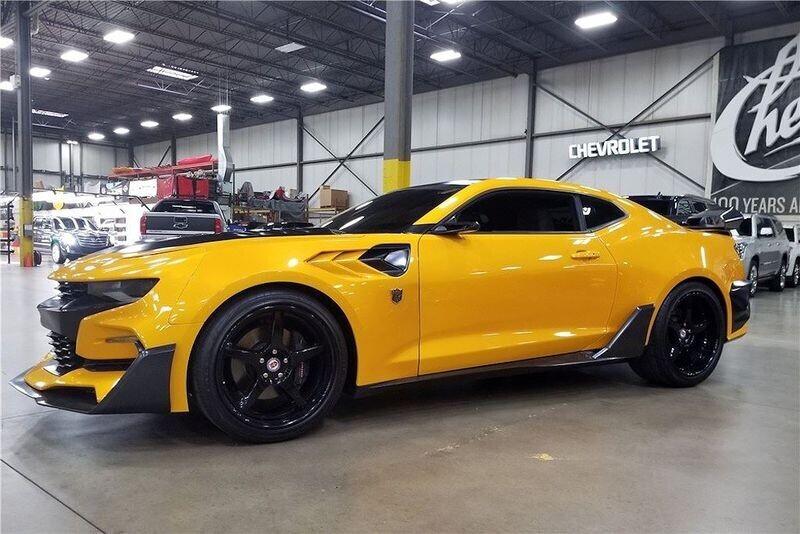 4 chiếc Chevrolet Camaro trong series Transformers được đem đấu giá từ thiện - Hình 10