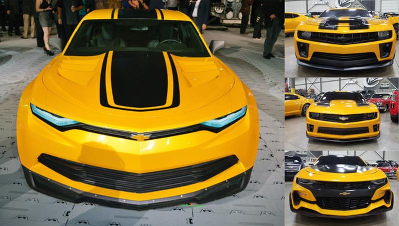 4 chiếc Chevrolet Camaro trong series Transformers được đem đấu giá từ thiện - Hình 2