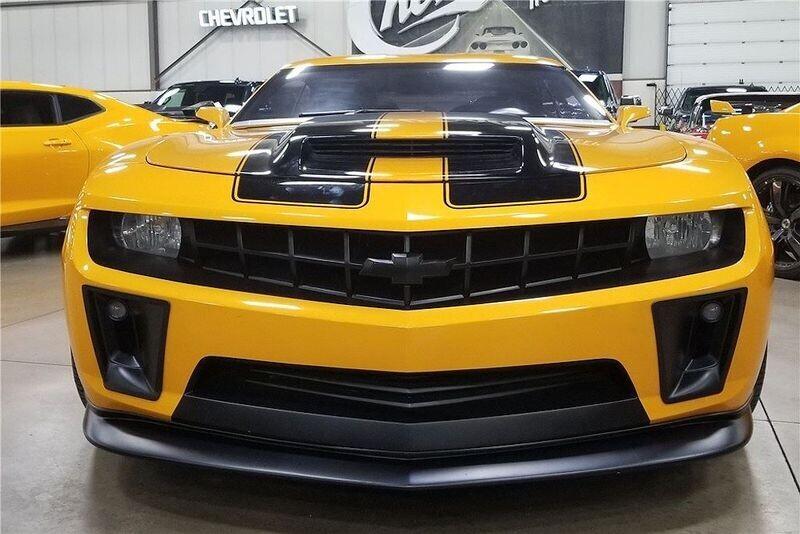 4 chiếc Chevrolet Camaro trong series Transformers được đem đấu giá từ thiện - Hình 3