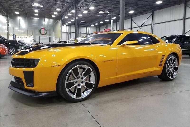 4 chiếc Chevrolet Camaro trong series Transformers được đem đấu giá từ thiện - Hình 4