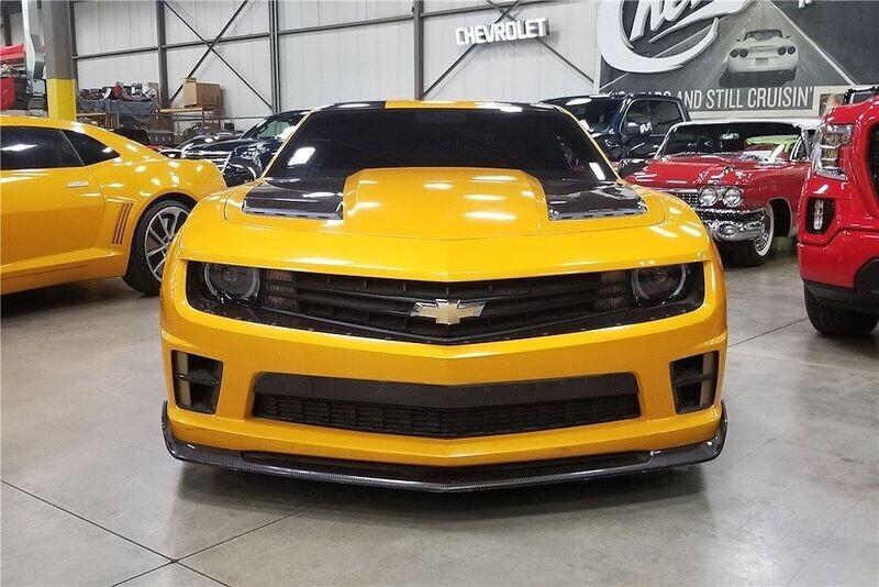 4 chiếc Chevrolet Camaro trong series Transformers được đem đấu giá từ thiện - Hình 5