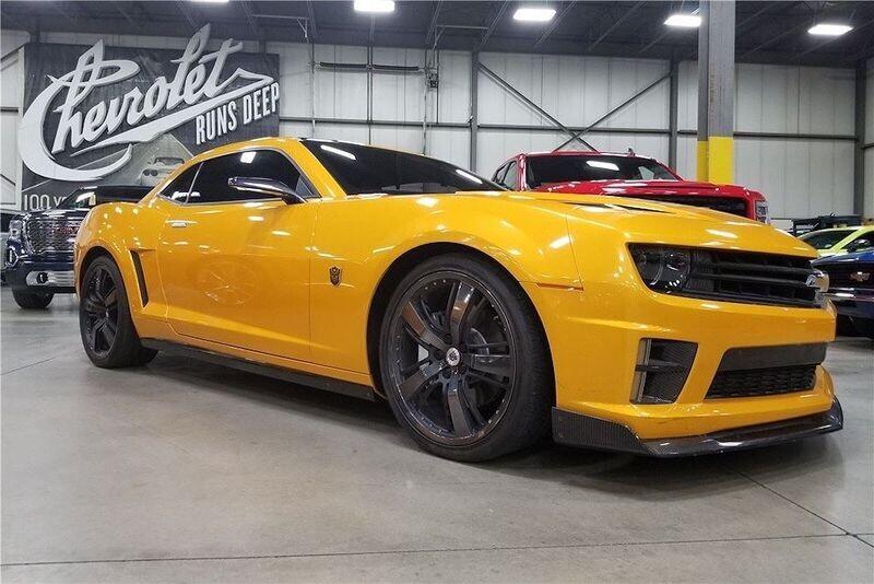 4 chiếc Chevrolet Camaro trong series Transformers được đem đấu giá từ thiện - Hình 6