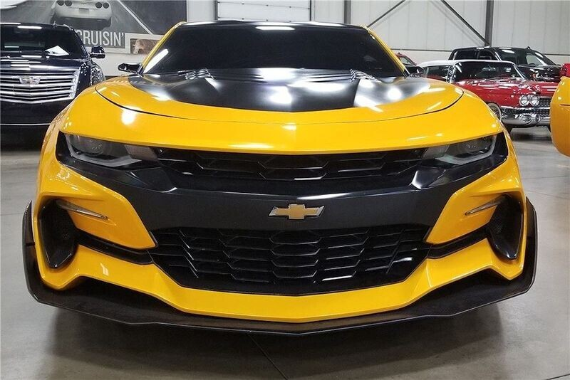 4 chiếc Chevrolet Camaro trong series Transformers được đem đấu giá từ thiện - Hình 9