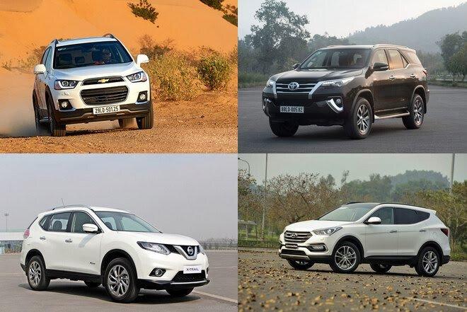 4 chiếc xe SUV hàng đầu, giá dưới 1 tỷ đồng tại Việt Nam - Hình 1