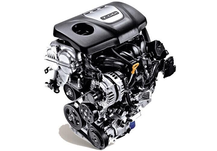 Động cơ Gamma 1.6L T-GDI mang sức mạnh vượt trội