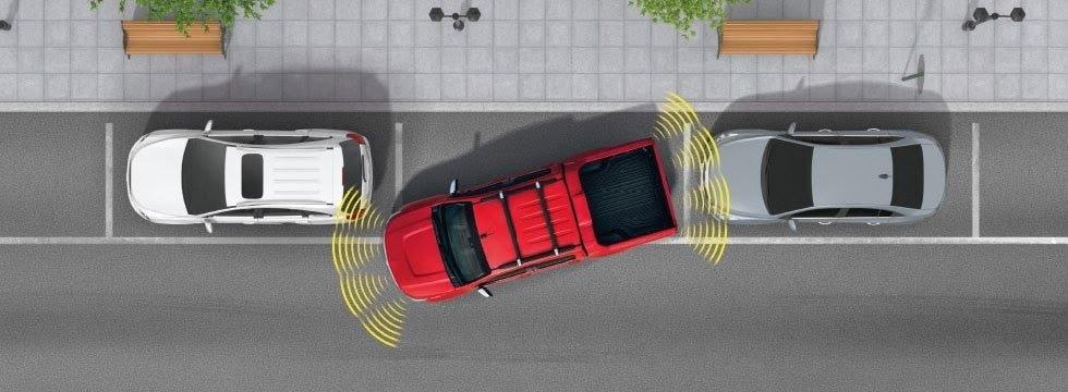 Cảnh báo hỗ trợ đỗ xe trước và sau giúp bạn đỗ xe nhanh chóng.