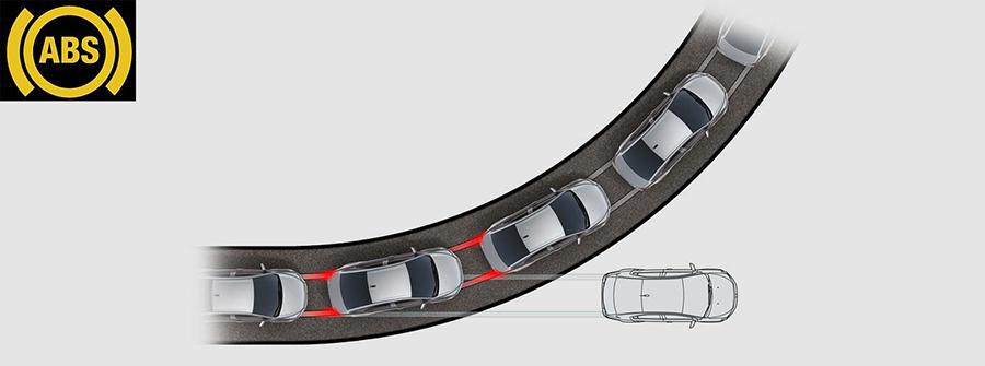 Hệ thống chống bó cứng phanh đáng tin cậy (ABS)