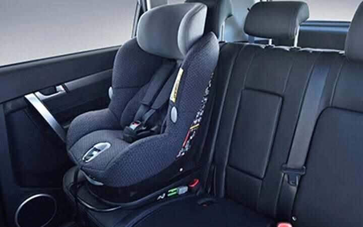 Hệ thống tự động khoá ghế trẻ em