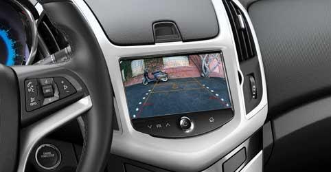 Camera lùi hỗ trợ người lái đỗ xe dễ dàng