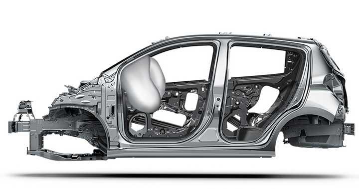 Túi khí tiêu chuẩn dành cho tài xế và hành khách
