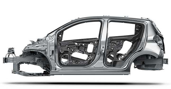 Khung xe thiết kế an toàn