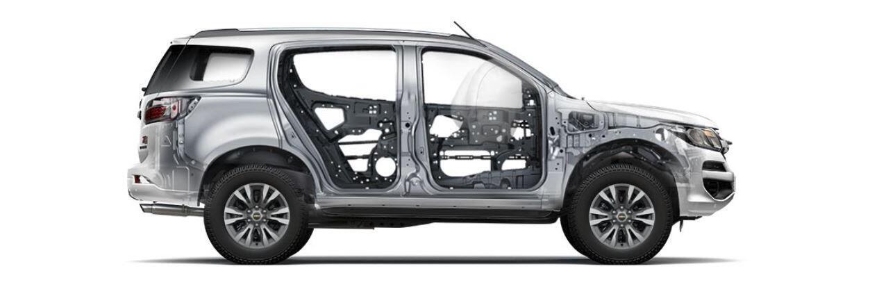 Khung xe cứng cáp vững chãi và có độ bền cao giúp bảo vệ hành khách trước mọi lực va đập mạnh