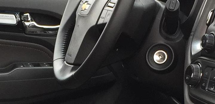 Khóa an toàn hai nấc đảm bảo chiếc Trailblazer của bạn luôn vận hành an toàn, tránh tình trạng động cơ bị dừng đột ngột