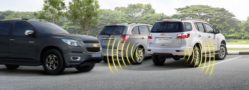 Rada giúp pháp hiện và cảnh báo các phương tiện di chuyển  ngang phía sau hoặc từ hai bên