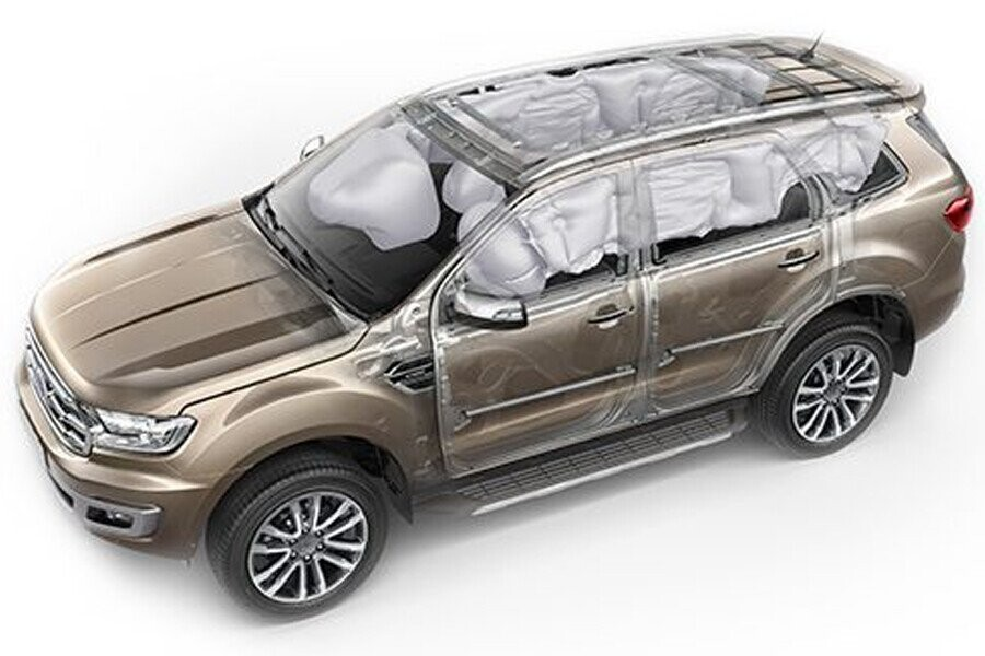An toàn Ford Everest Ambiente 2.0L MT 4x2 - Hình 4