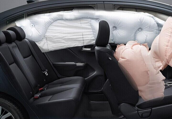 Hệ thống túi khí bảo vệ an toàn người lái