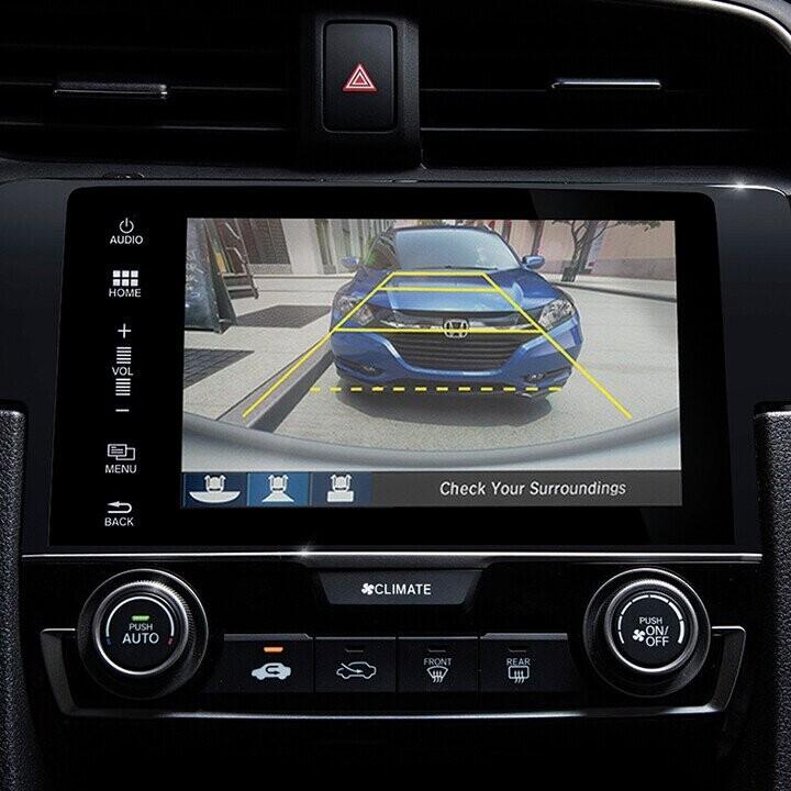Camera lùi 3 góc quay trợ thủ đắc lực trong các tình huống lùi, dừng, đỗ xe