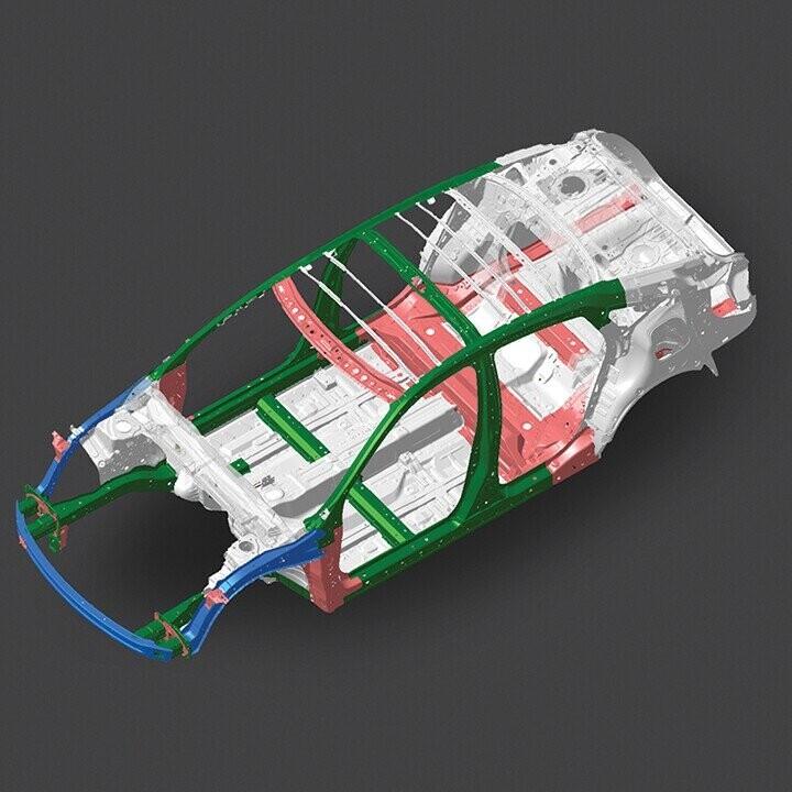Khung xe sử dụng thép có độ cứng cao và kỹ thuật tương thích hiện đại ACE