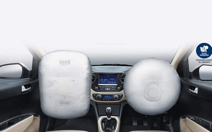 Hệ thống túi khí ghế lái và hành khách