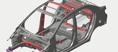 Kết cấu khung xe vững chắc