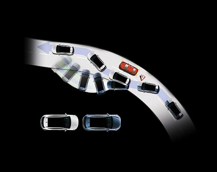 Công nghệ an toàn hiện đại giúp xe vận hành ổn định
