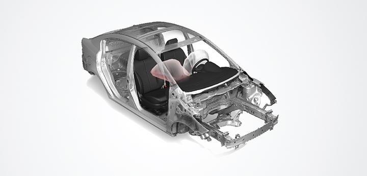 Mazda 2 trang bị 2 túi an toàn người lái