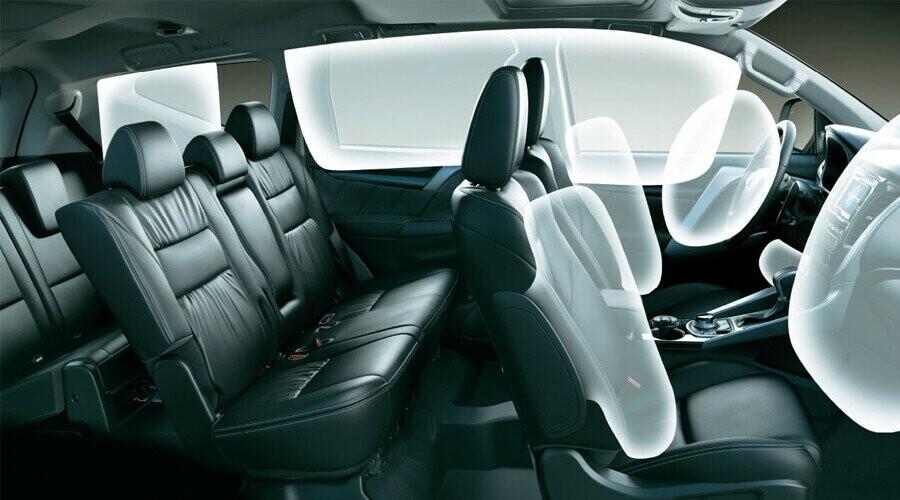 An toàn Mitsubishi Mitsubishi Pajero Sport Diesel 4x2 AT - Hình 7