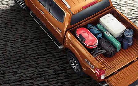 Nissan Navara giúp chuyên chở hàng