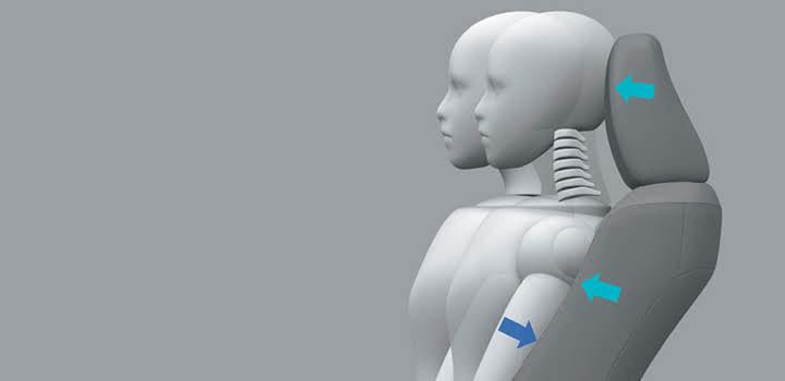 Ghế có cấu trúc giảm chấn thương đót sống cổ