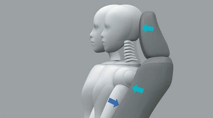 Ghế có cấu trúc giảm chấn thương đốt sống cổ