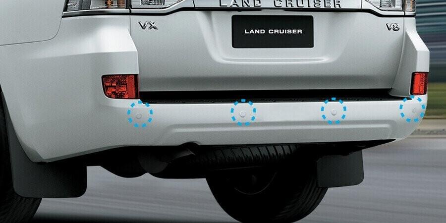 An toàn Toyota Land Cruiser - Hình 1