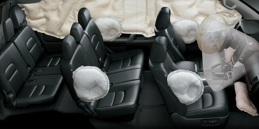 An toàn Toyota Land Cruiser - Hình 7