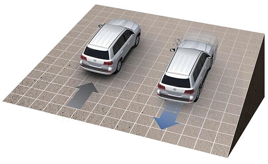 An toàn Toyota Land Cruiser - Hình 4