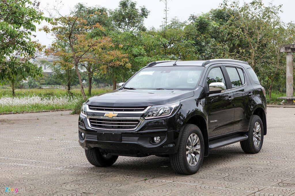 Ảnh Chevrolet Trailblazer - đối thủ mới của Toyota Fortuner - Hình 1