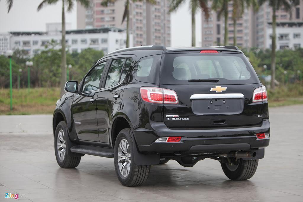 Ảnh Chevrolet Trailblazer - đối thủ mới của Toyota Fortuner - Hình 2