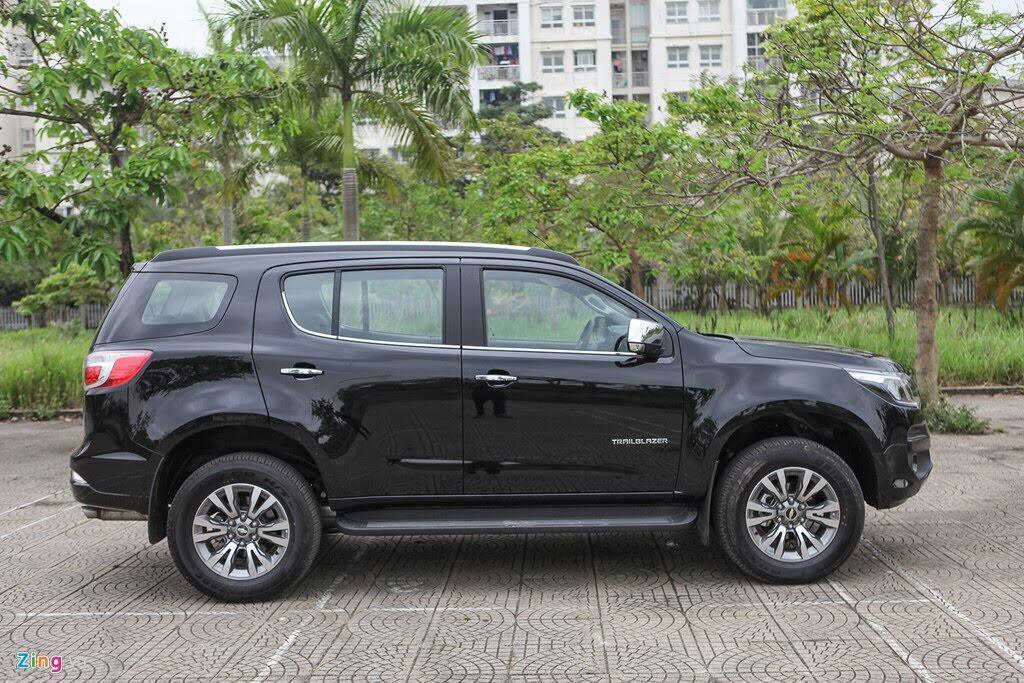 Ảnh Chevrolet Trailblazer - đối thủ mới của Toyota Fortuner - Hình 3