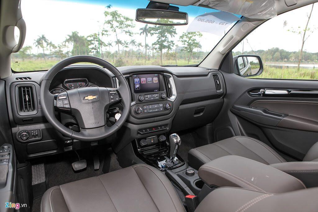 Ảnh Chevrolet Trailblazer - đối thủ mới của Toyota Fortuner - Hình 4