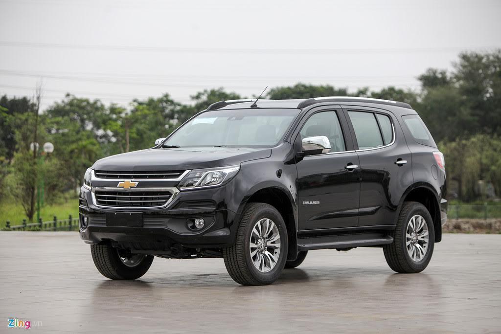 Ảnh Chevrolet Trailblazer - đối thủ mới của Toyota Fortuner - Hình 8