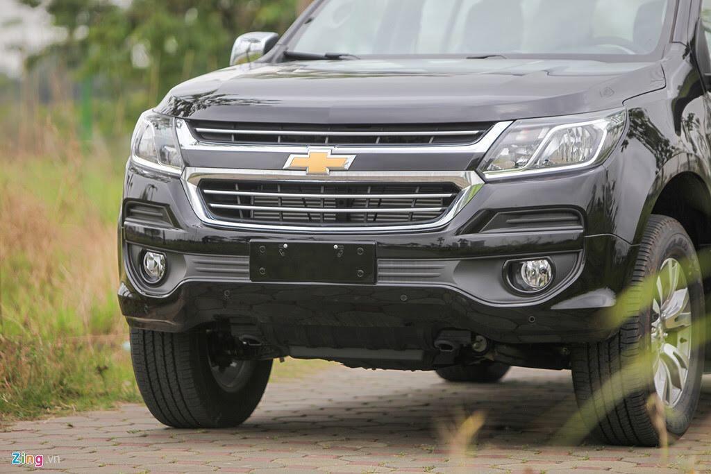 Ảnh Chevrolet Trailblazer - đối thủ mới của Toyota Fortuner - Hình 10