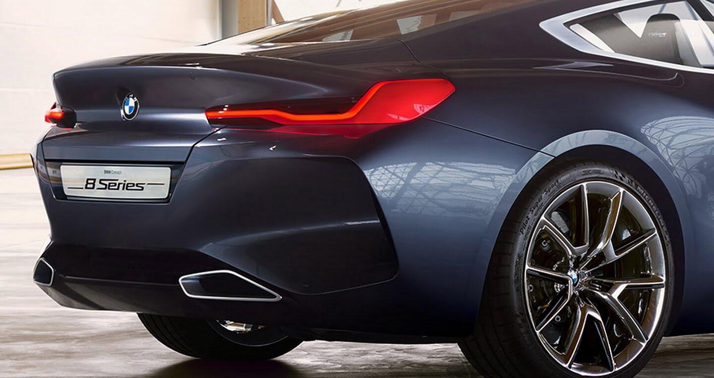 Ảnh chi tiết BMW 8 Series Concept - Hình 1