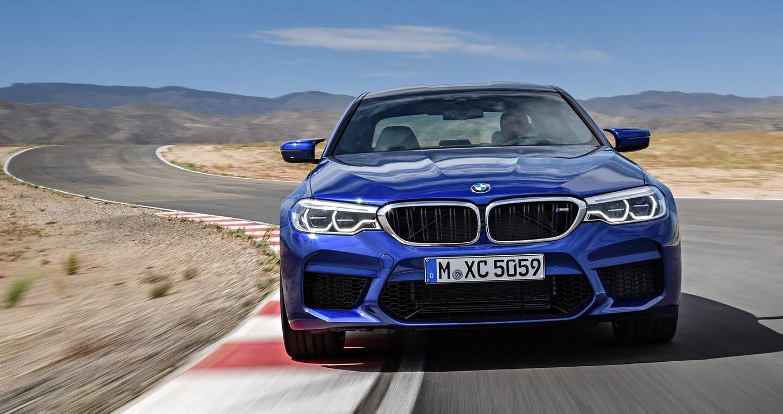 Ảnh chi tiết BMW M5 2018 - Hình 1