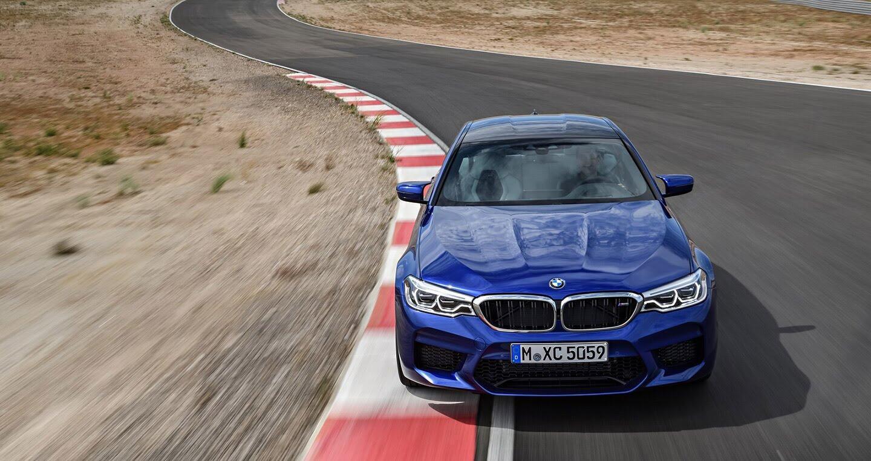 Ảnh chi tiết BMW M5 2018 - Hình 2