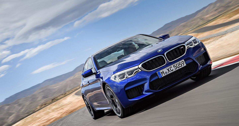 Ảnh chi tiết BMW M5 2018 - Hình 3