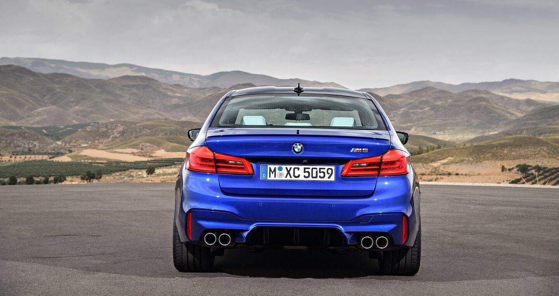 Ảnh chi tiết BMW M5 2018 - Hình 7