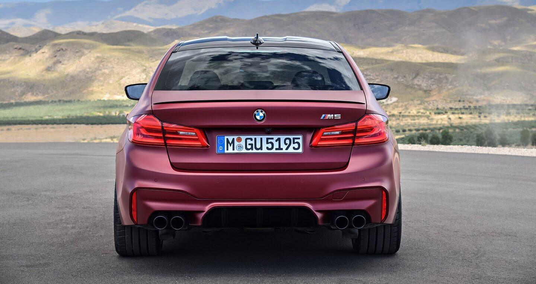 Ảnh chi tiết BMW M5 2018 - Hình 17