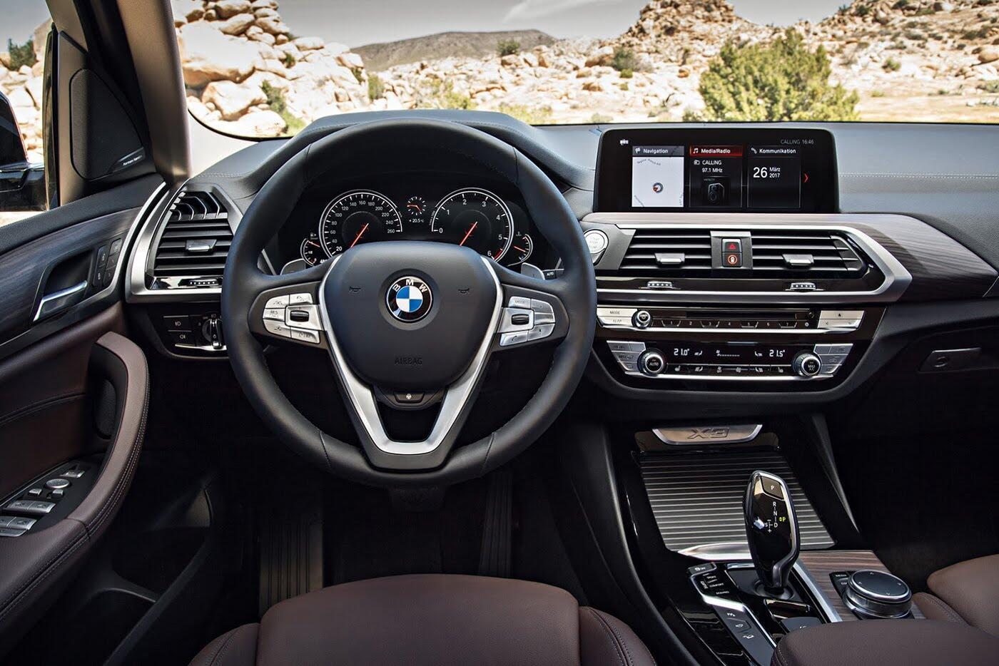 Ảnh chi tiết BMW X3 2018 hoàn toàn mới - Hình 32
