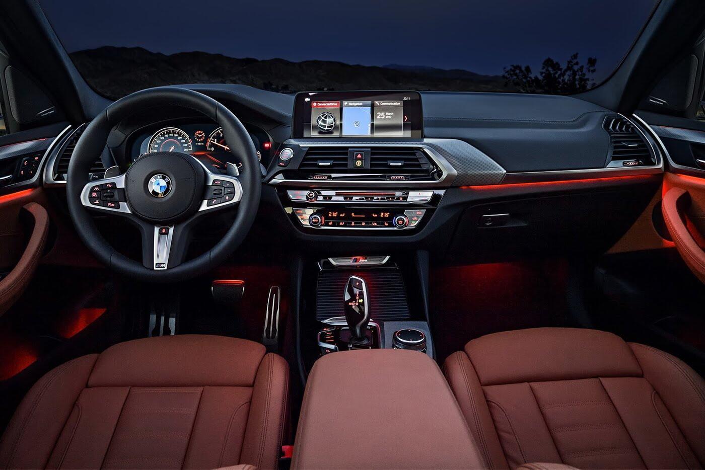 Ảnh chi tiết BMW X3 2018 hoàn toàn mới - Hình 34
