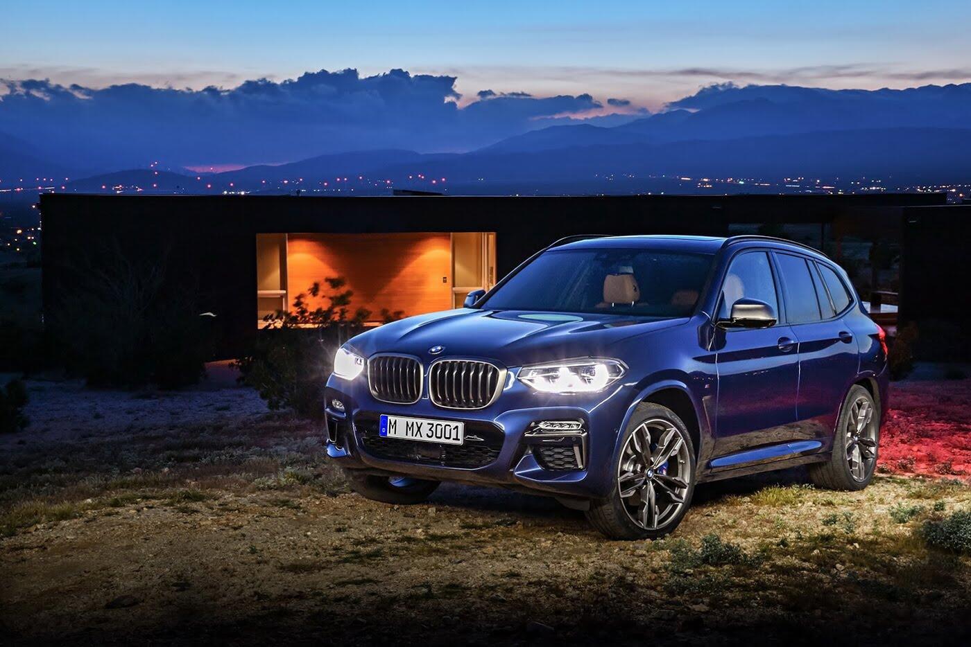 Ảnh chi tiết BMW X3 2018 hoàn toàn mới - Hình 2