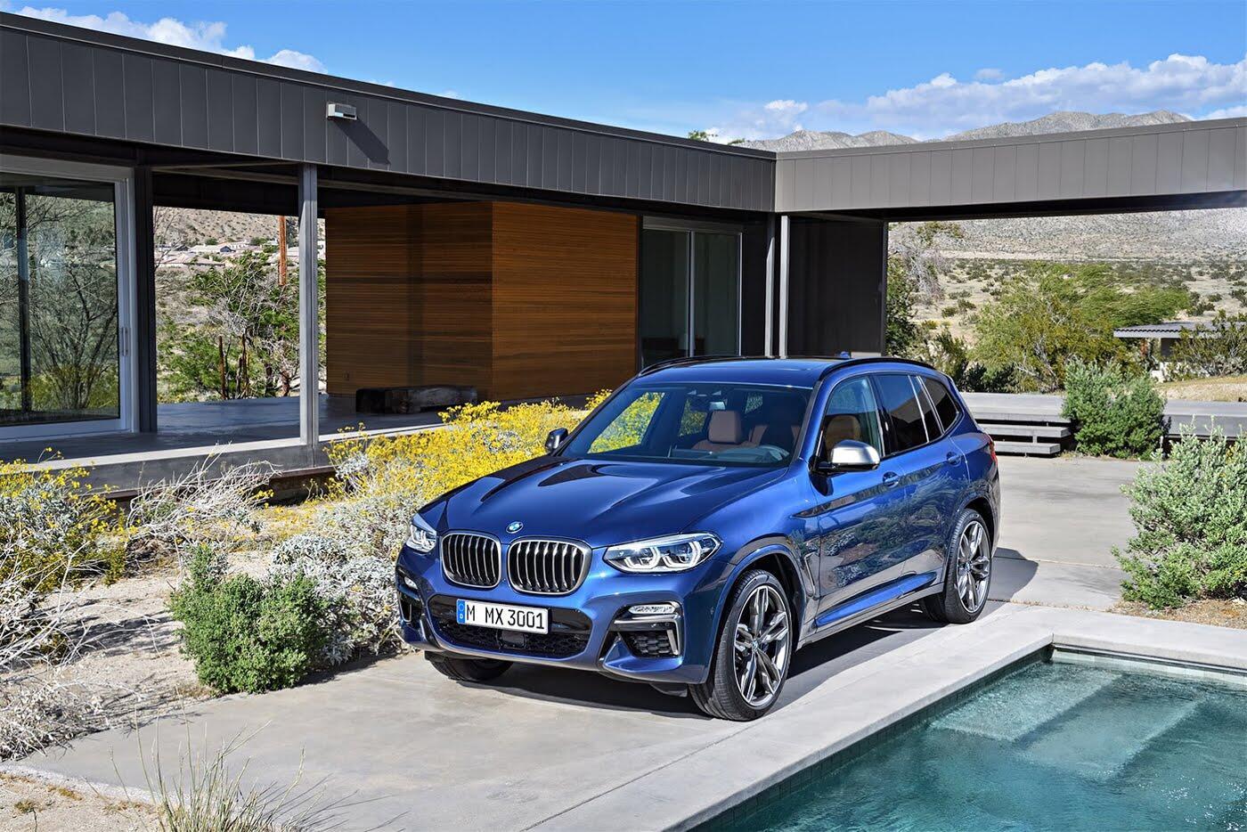 Ảnh chi tiết BMW X3 2018 hoàn toàn mới - Hình 5